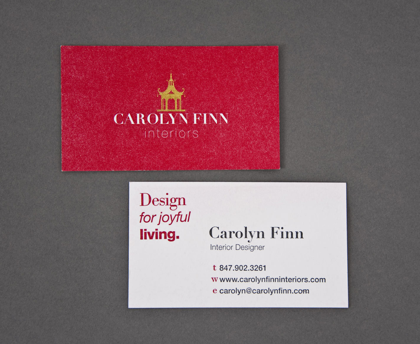 Carolyn Finn - Business Card
