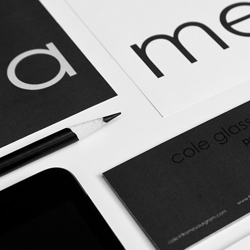 Frame Your Gram Corporate Identity