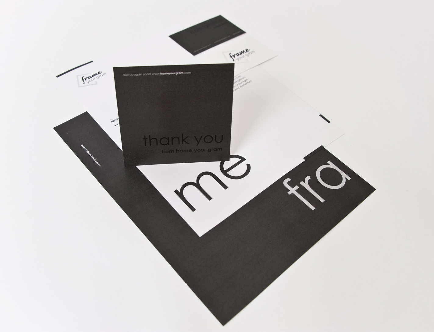 Frame Your Gram - Corporate Identity