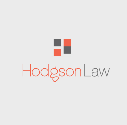 Hodgson Law Logo Design