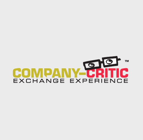 Company Critic Exchange Experience Logo Design