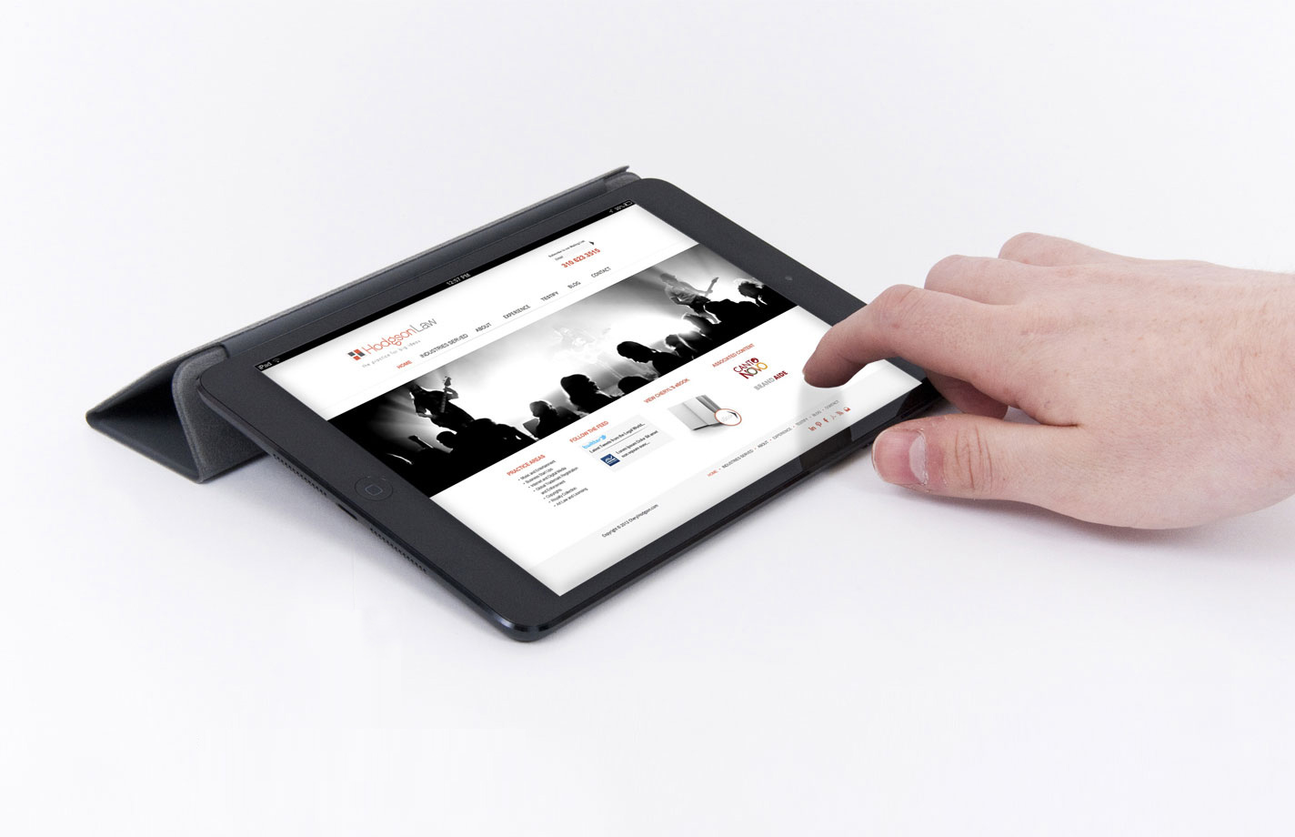 Responsive Tablet Design