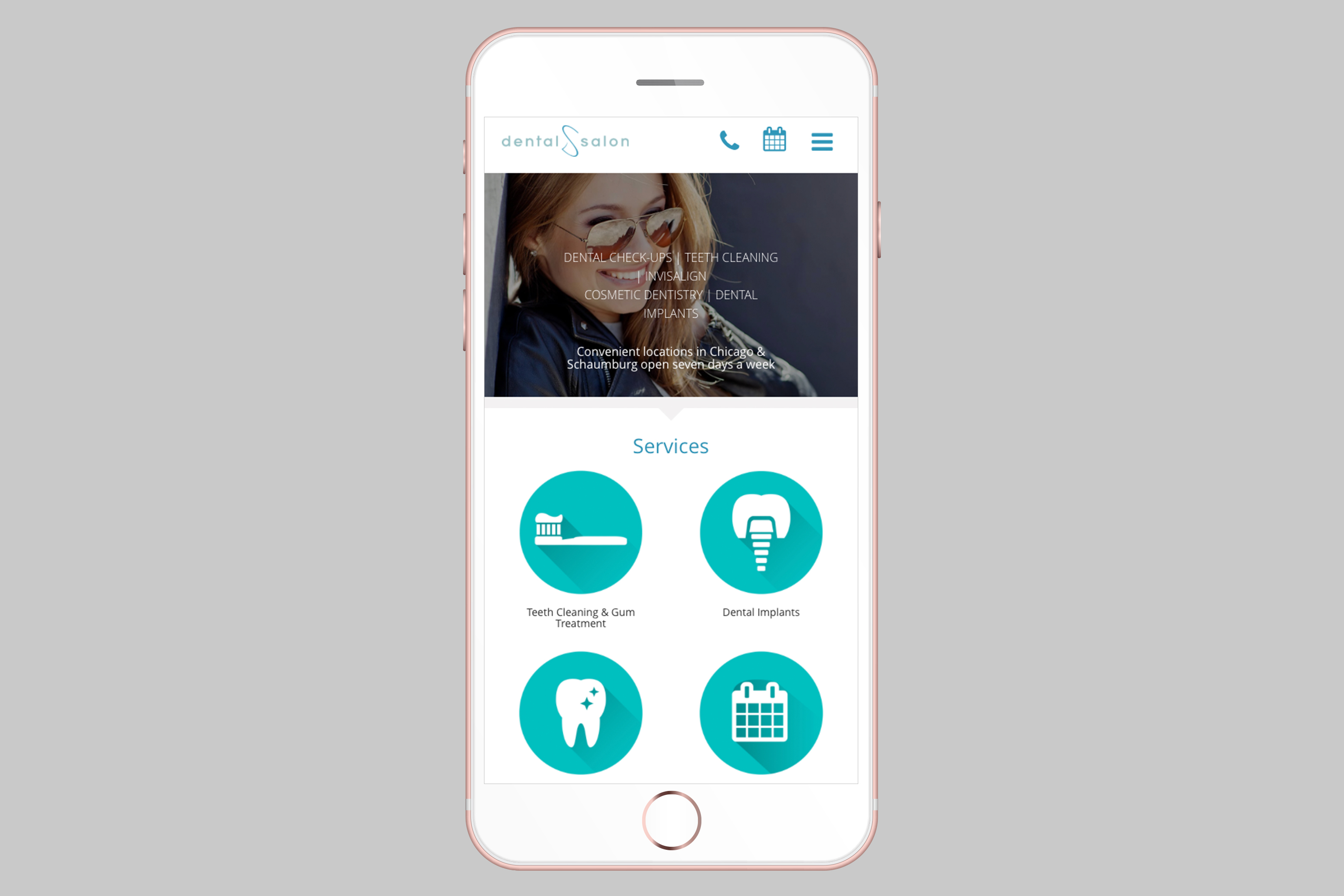 web design dental