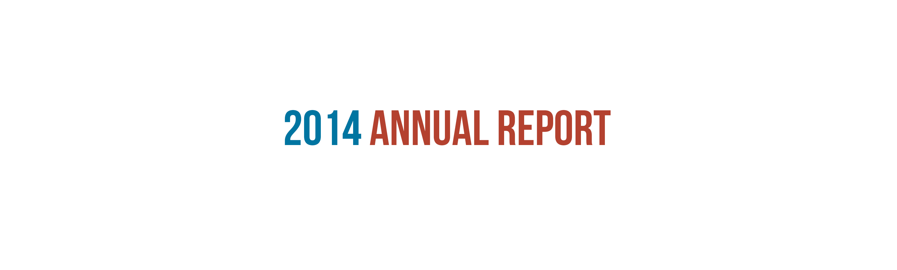 Annual Report Graphic Design