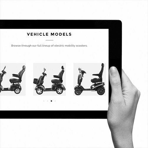 VMW Scooters Web Design