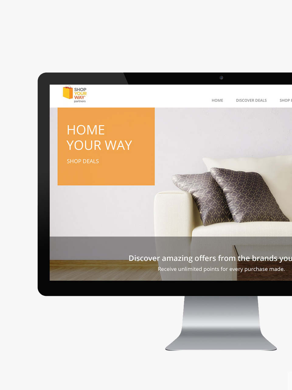 Website Interface Design