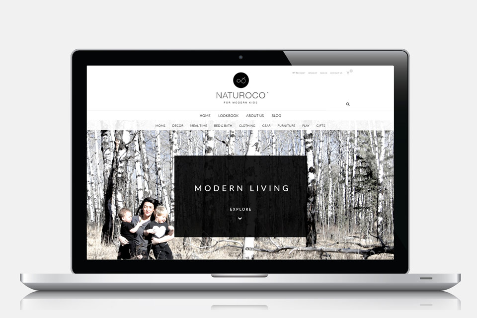 Lifestyle Branding Web Design