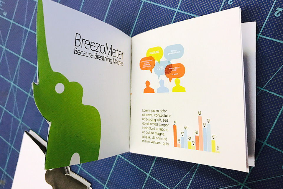 Die-cut Brochure Design