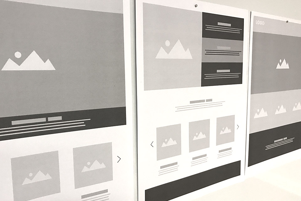 Web Design Wireframing