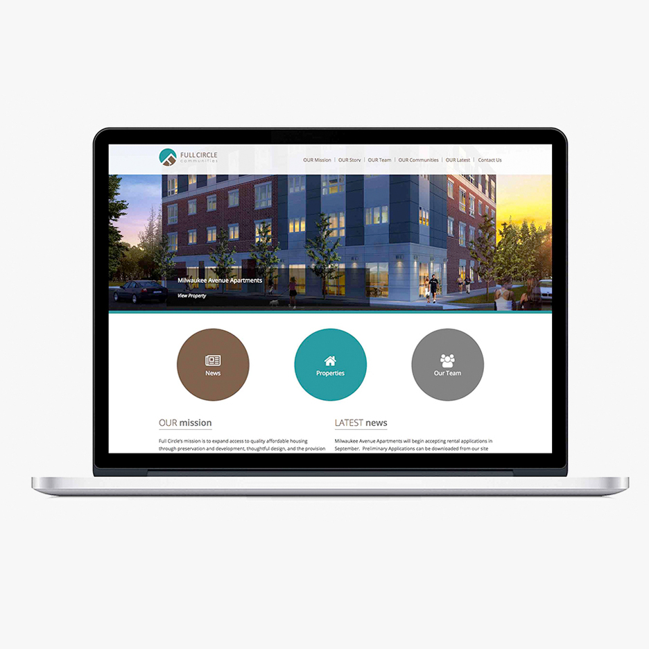 Web design company for Apartment web design