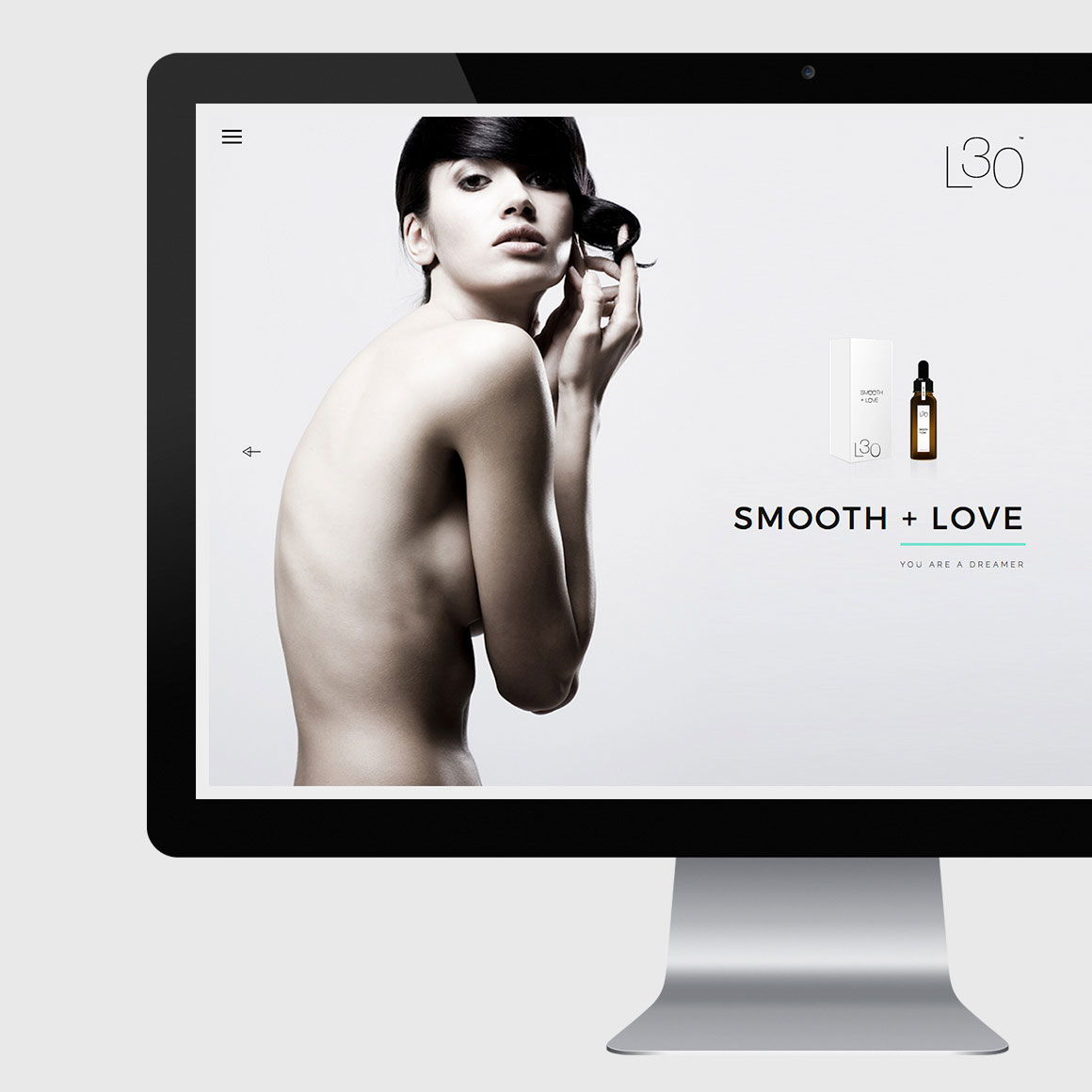 Luxury Cosmetics Website Design