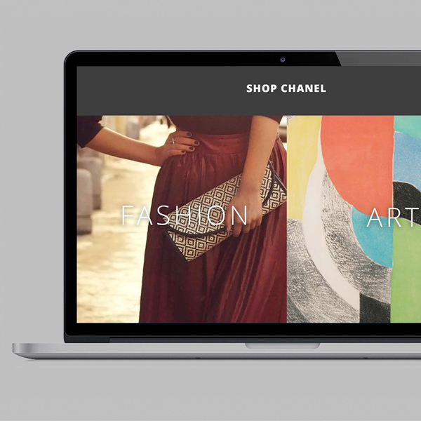 Luxury Fashion Ecommerce Website Design