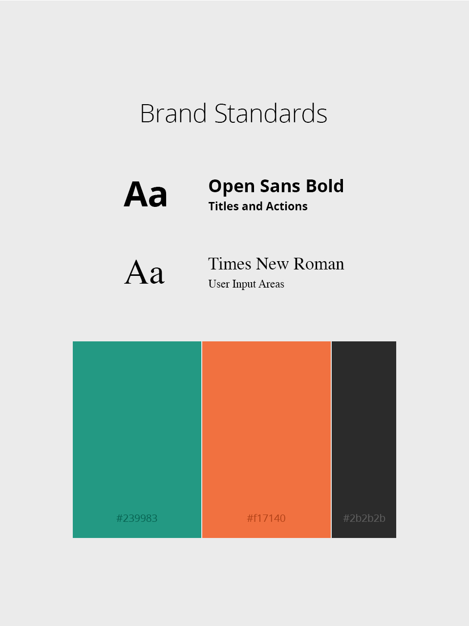 UIUX Typography Colors