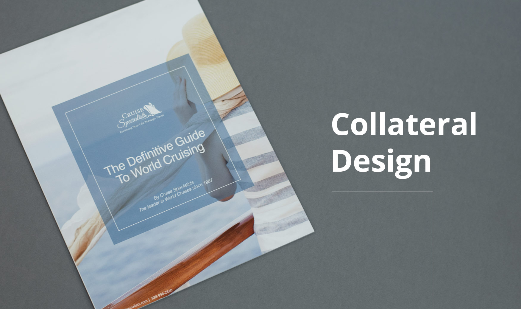 Collateral Design Brochure Front