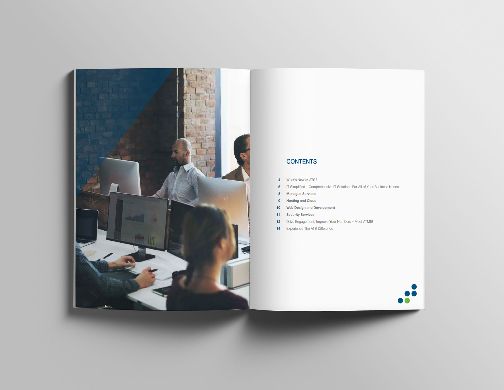Print Design Table of Contents
