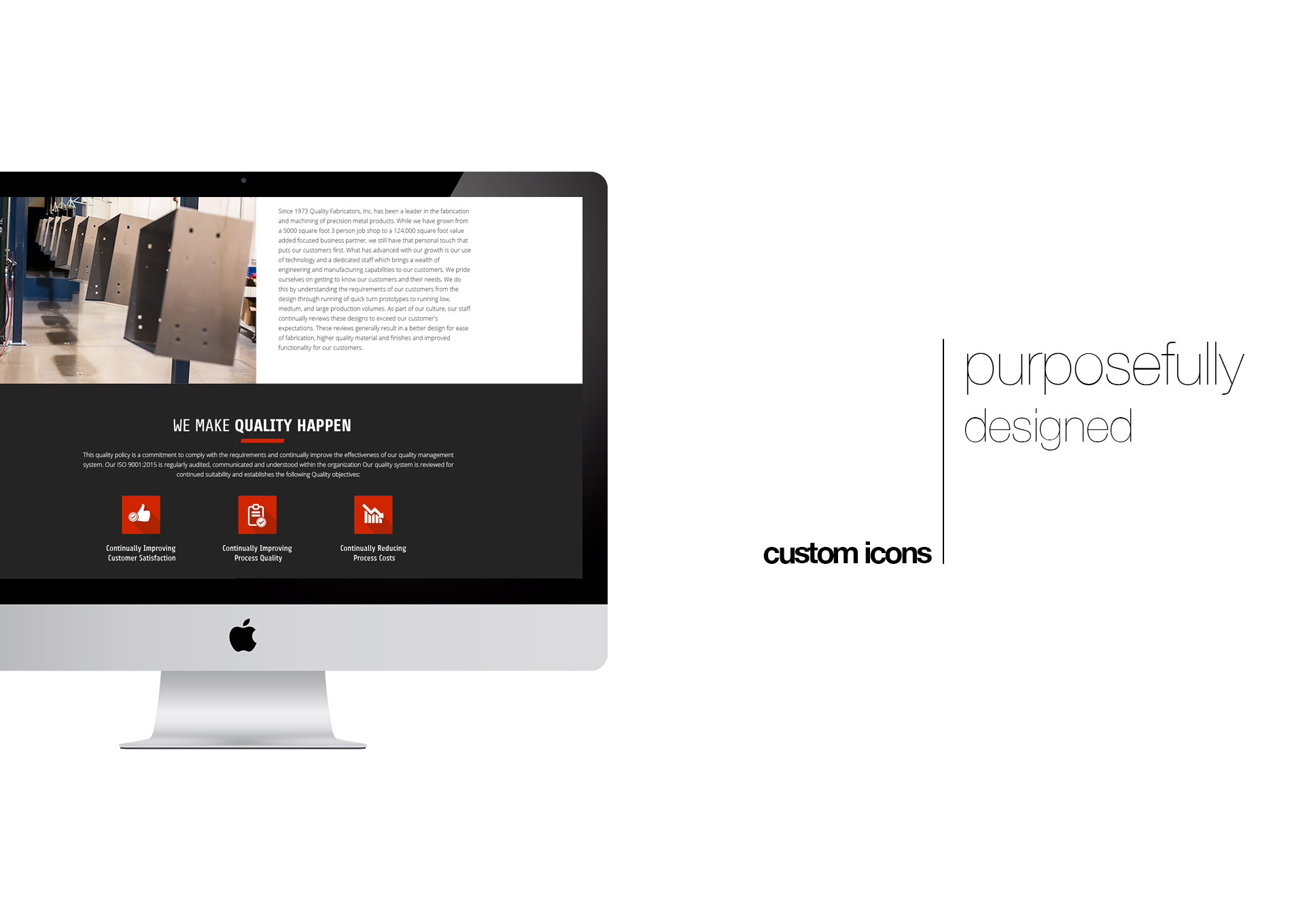 Web Design For Manufacturing