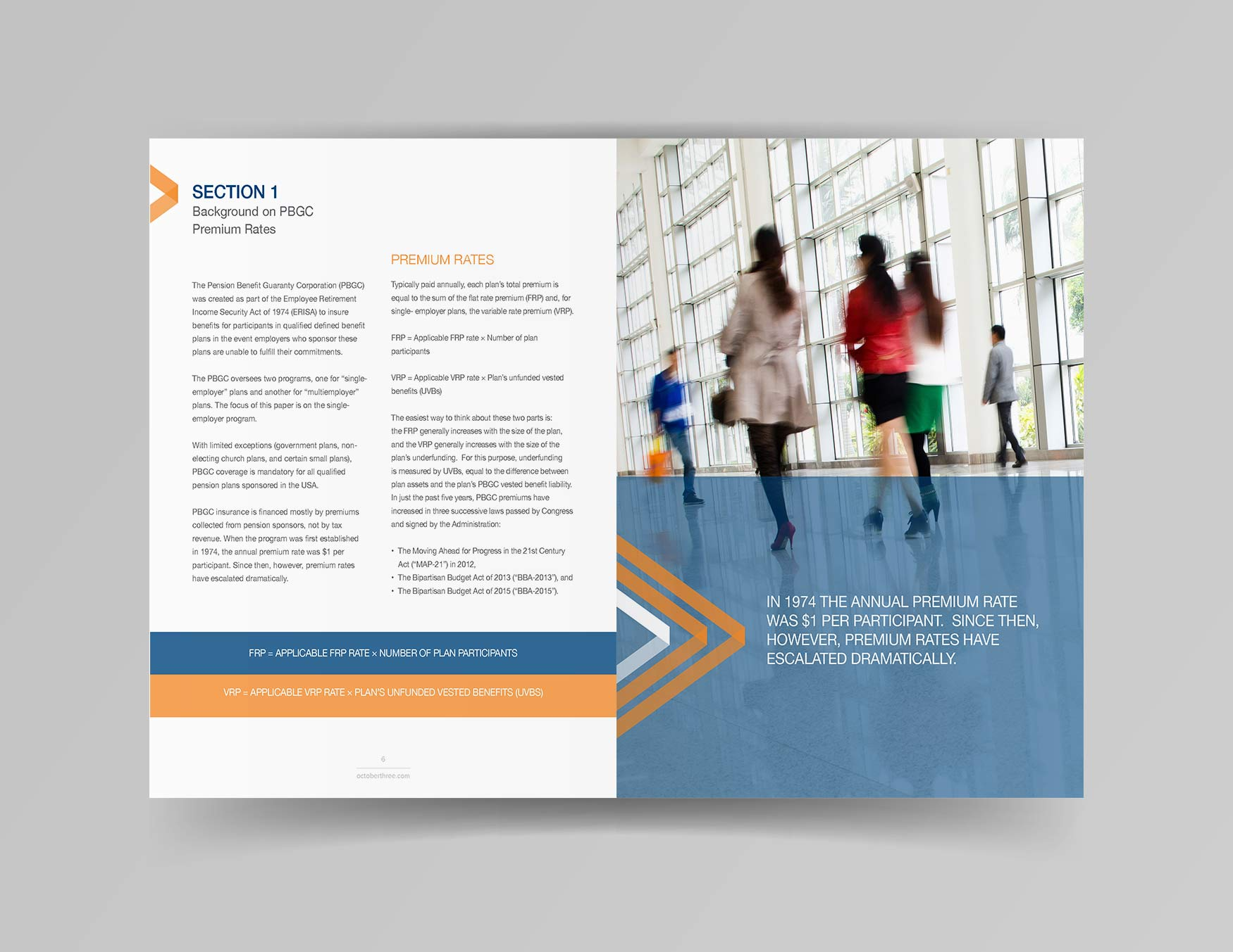 Marketing Collateral First Section