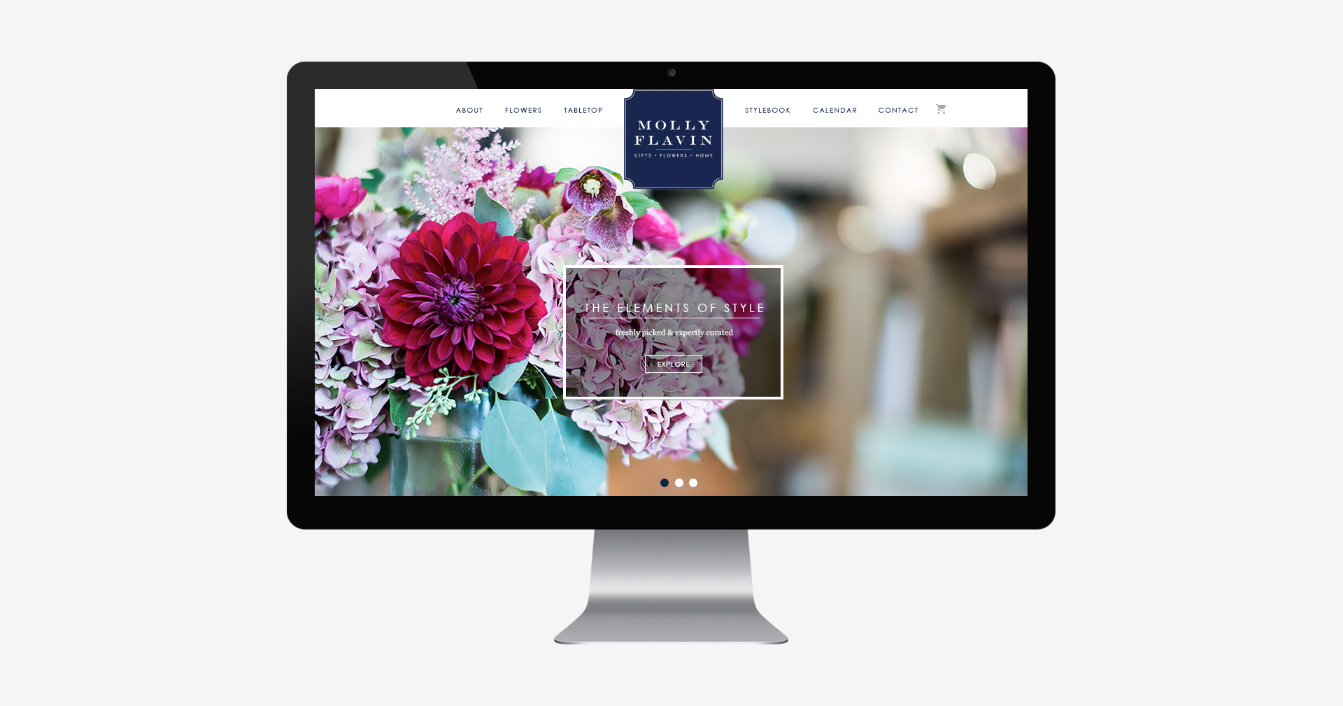 Floral Website Design