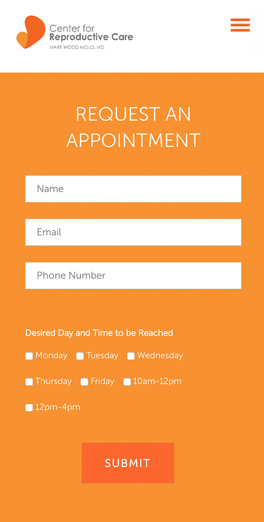 UI UX Contact Form Design