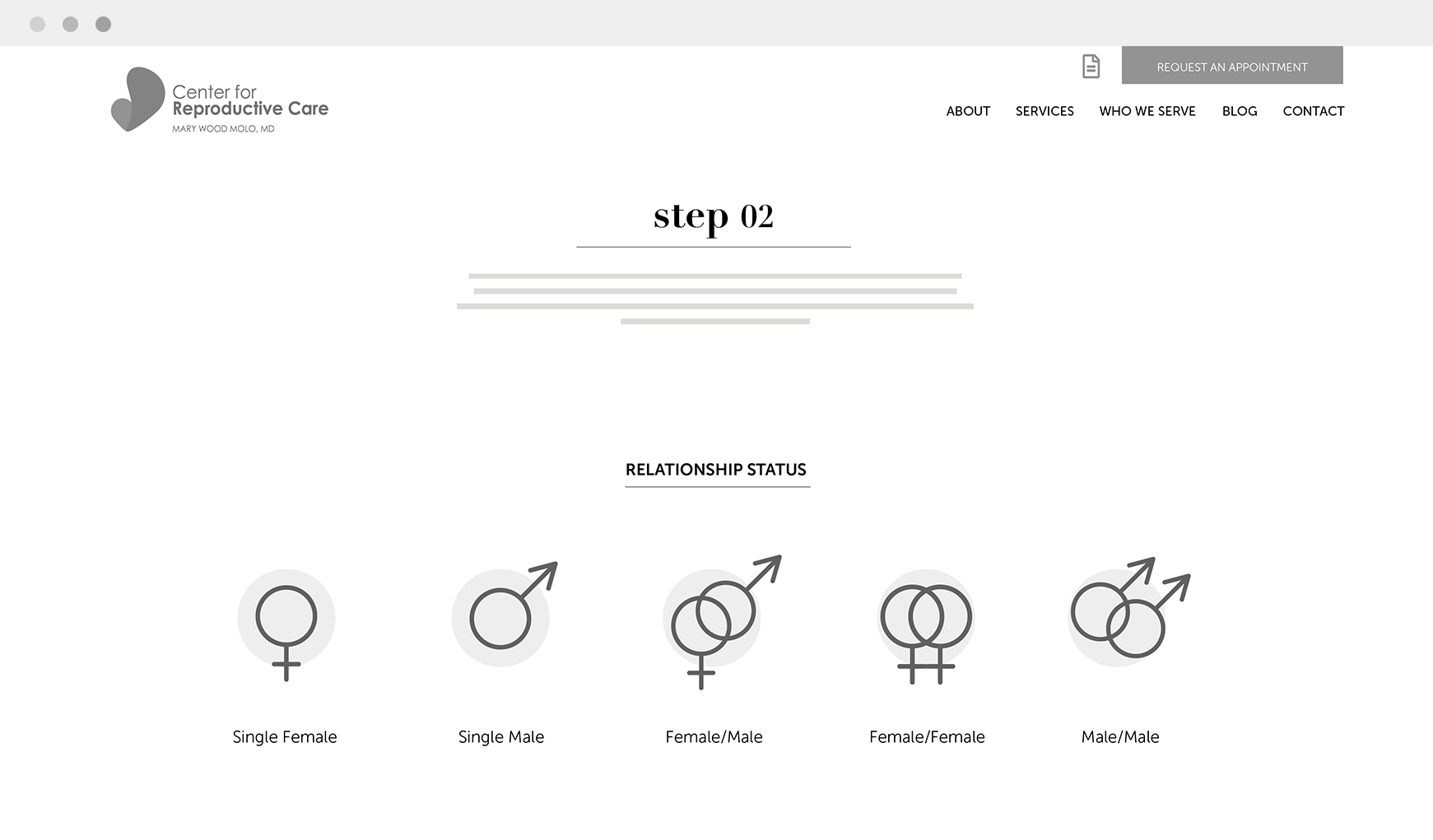 UI UX Step Two