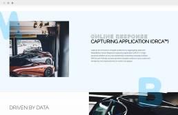 automotive page design