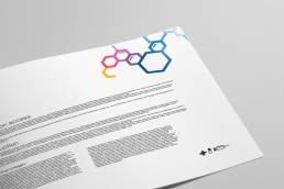 healthcare print collateral