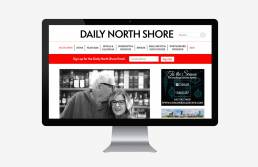 desktop news website