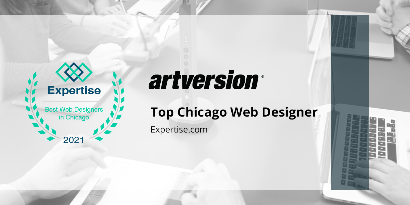 ArtVersion is featured as a top Chicago web designer by Expertise.com for 2021