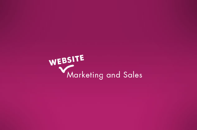 website marketing and sales