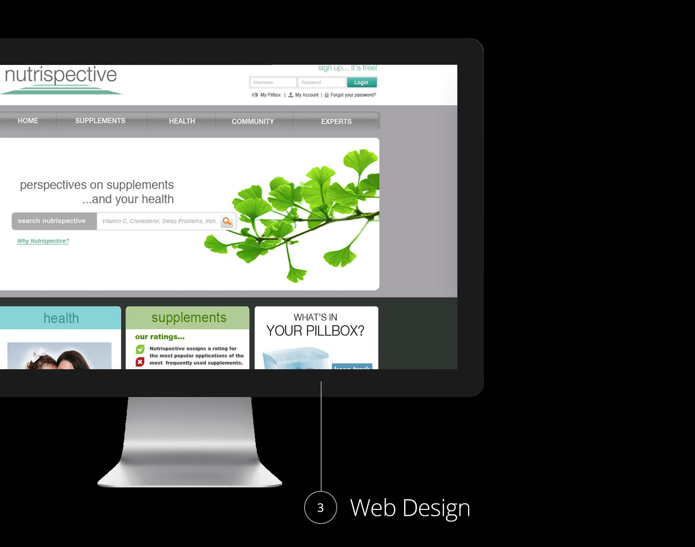 Health Company - Web Design